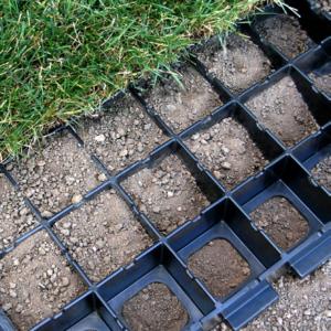 Geoblock Vegetative Porous Pavement