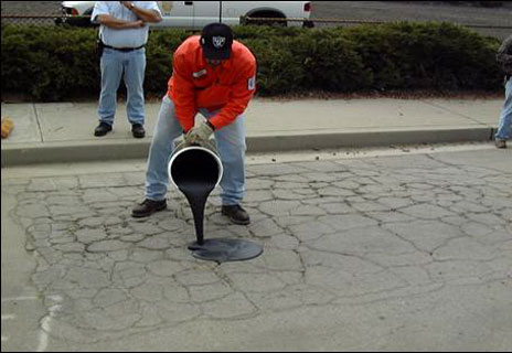 PERCOL GeoFlo Rapid Asphalt Repair Slurry - 5 Gallon Kit