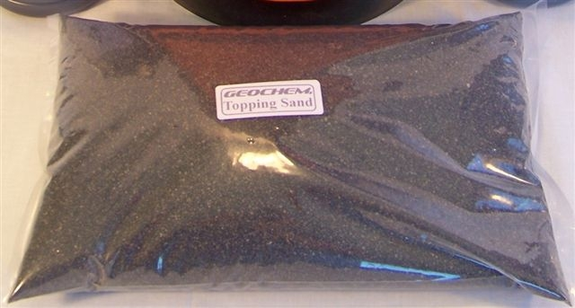 Asphalt Repair Black Aggregate Topping Sand (12 lb bag)