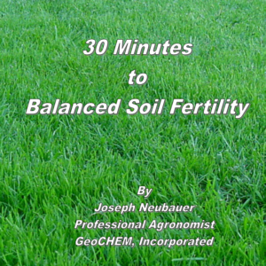 30 Minutes to Balanced Soil Fertility Book