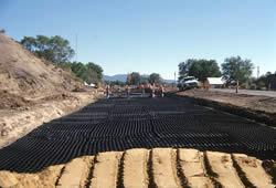 Geoweb Geocell Road Project
