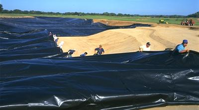 HDPE Alloy Geomembrane Containment Pond Liner