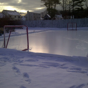 108' x 150' 6 Mil Type 1-HR Reinforced Ice Rink Liner
